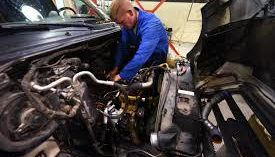 fixing an automobile in Manhattan NY