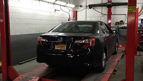 NYS car inspection
